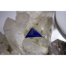Lapis Lazuli Power Pyramid - Sterling Silver /// SIZE 6